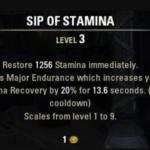 Eso sip of stamina recipe