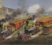 which one of the four railroads in monopoly was not a real railroad?